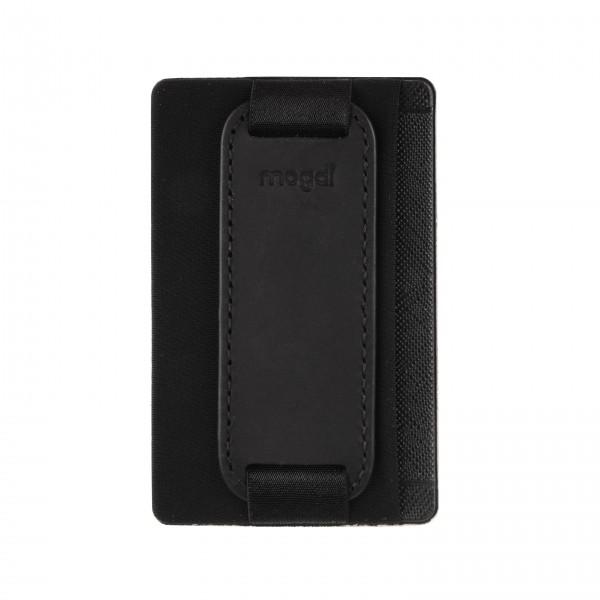 Schwarz - Smartphone Wallet RFID Blocker Portmonee Damen Herren iphone Galaxy Hülle Schale
